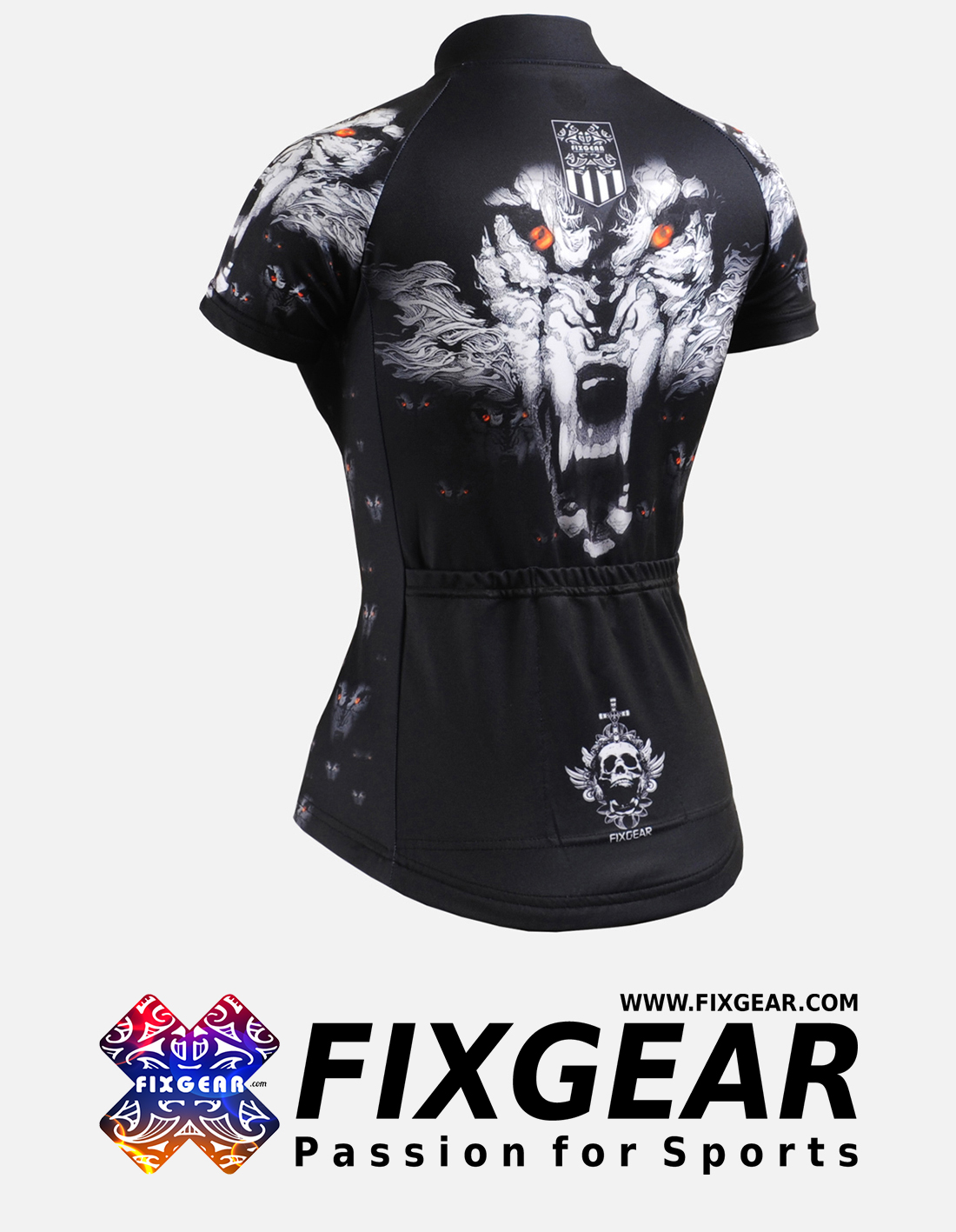 FIXGEAR CS-W1802 Women's Short Sleeve Jersey