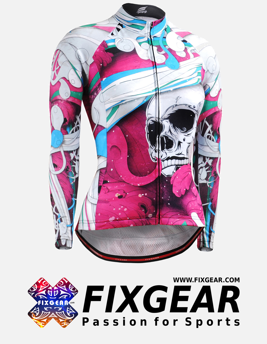 FIXGEAR CS-W19P1 Women's Long Sleeve Jersey