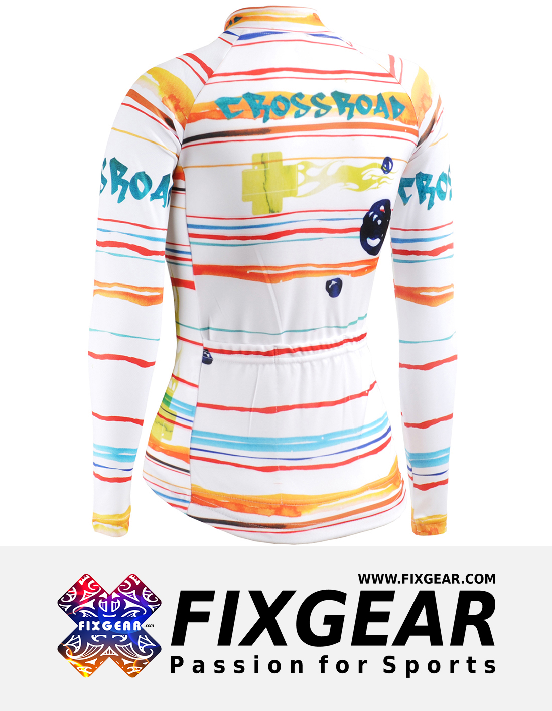 FIXGEAR CS-W2001 Women's Long Sleeve Jersey