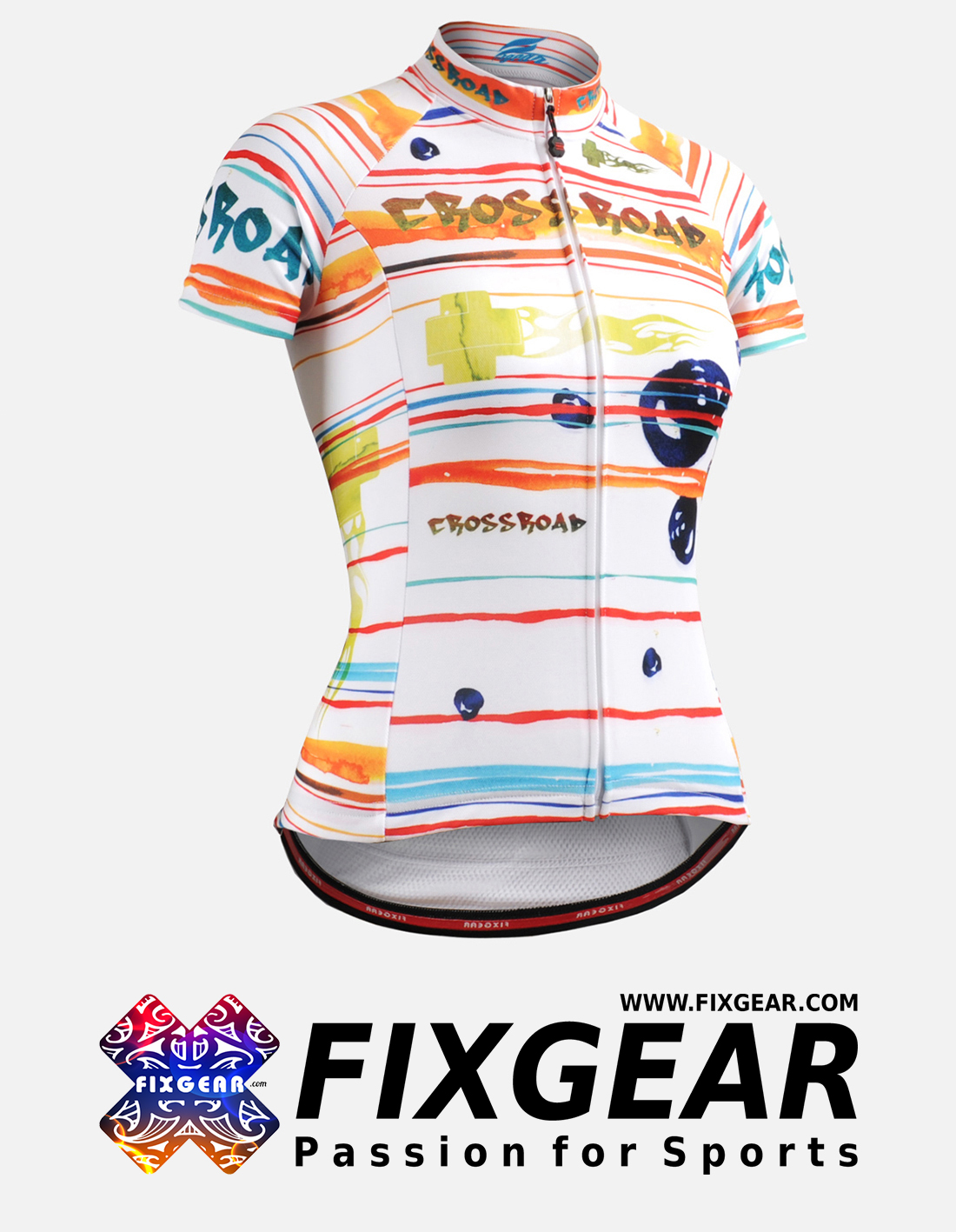 FIXGEAR CS-W2002 Women's Short Sleeve Jersey