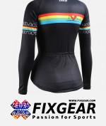 FIXGEAR CS-W201 Women's Long Sleeve Jersey 2