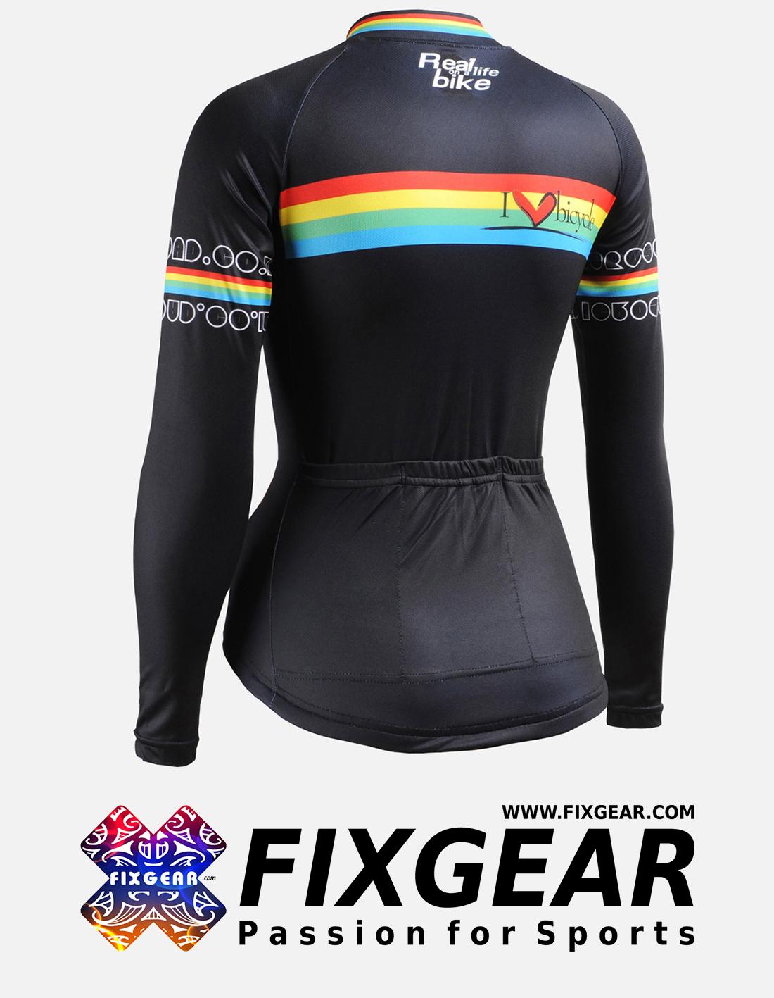 FIXGEAR CS-W201 Women's Long Sleeve Jersey