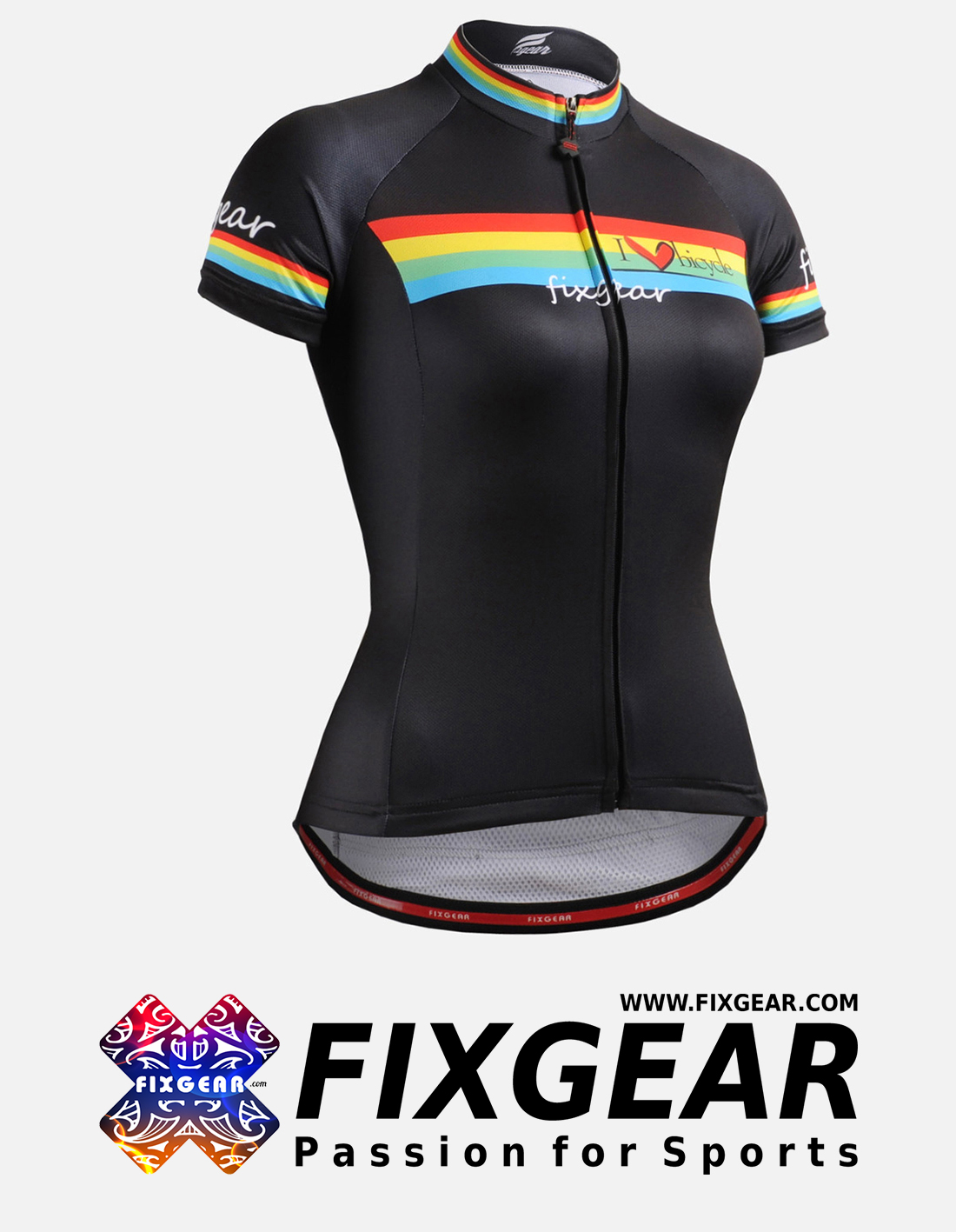 FIXGEAR CS-W202 Women's Short Sleeve Jersey