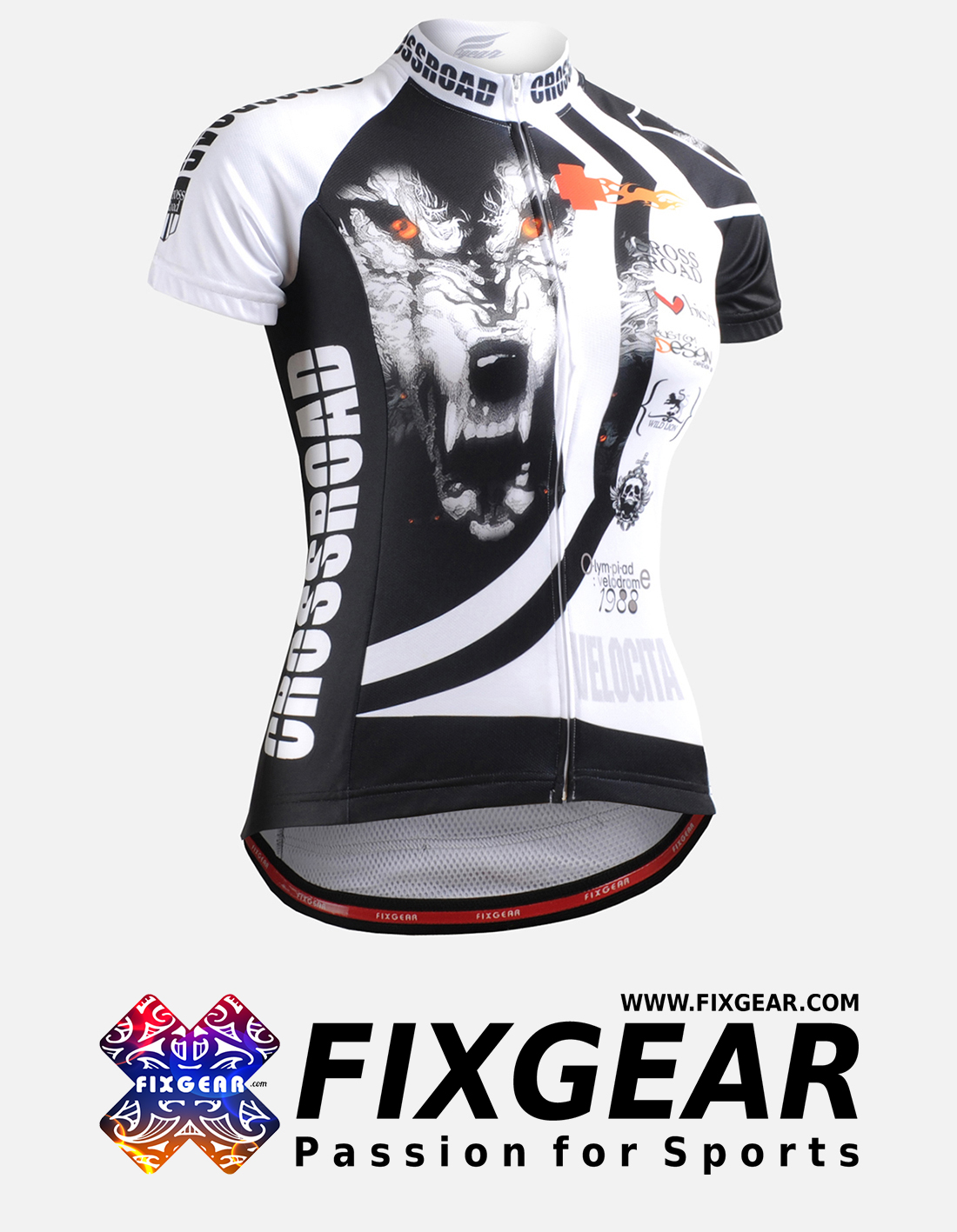 FIXGEAR CS-W2202 Women's Short Sleeve Jersey