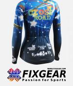 FIXGEAR CS-W2301 Women's Long Sleeve Jersey 2