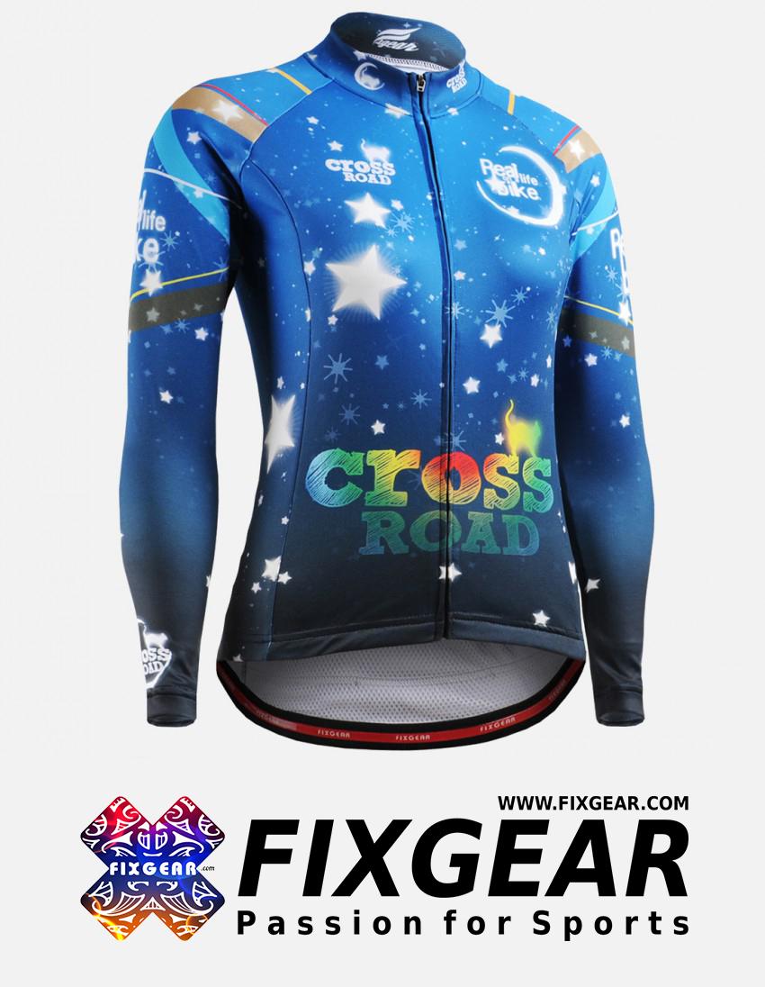 FIXGEAR CS-W2301 Women's Long Sleeve Jersey 1