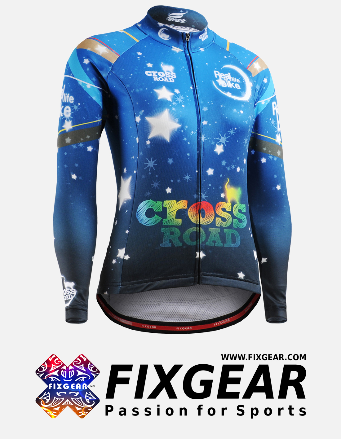 FIXGEAR CS-W2301 Women's Long Sleeve Jersey