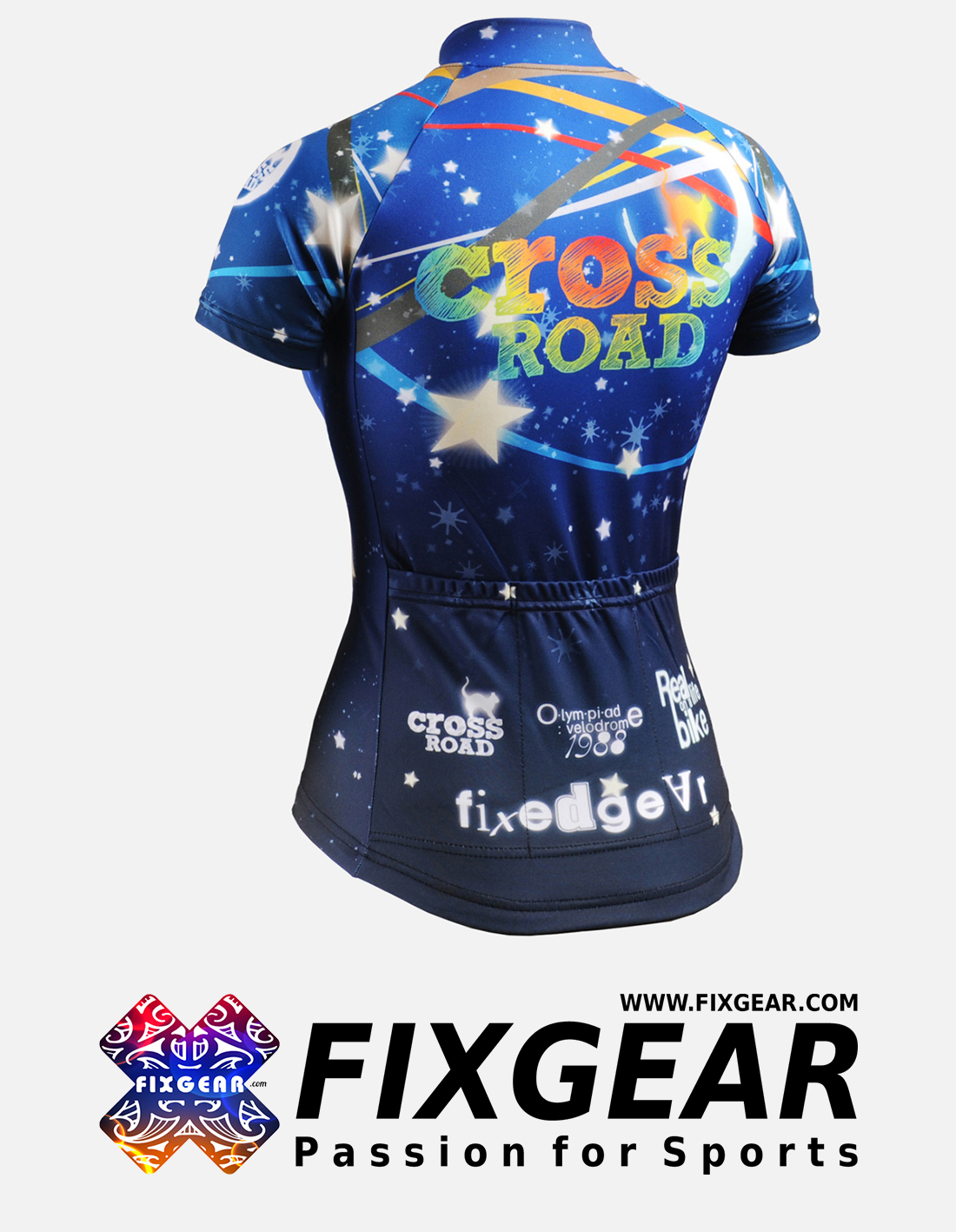 FIXGEAR CS-W2302 Women's Short Sleeve Jersey