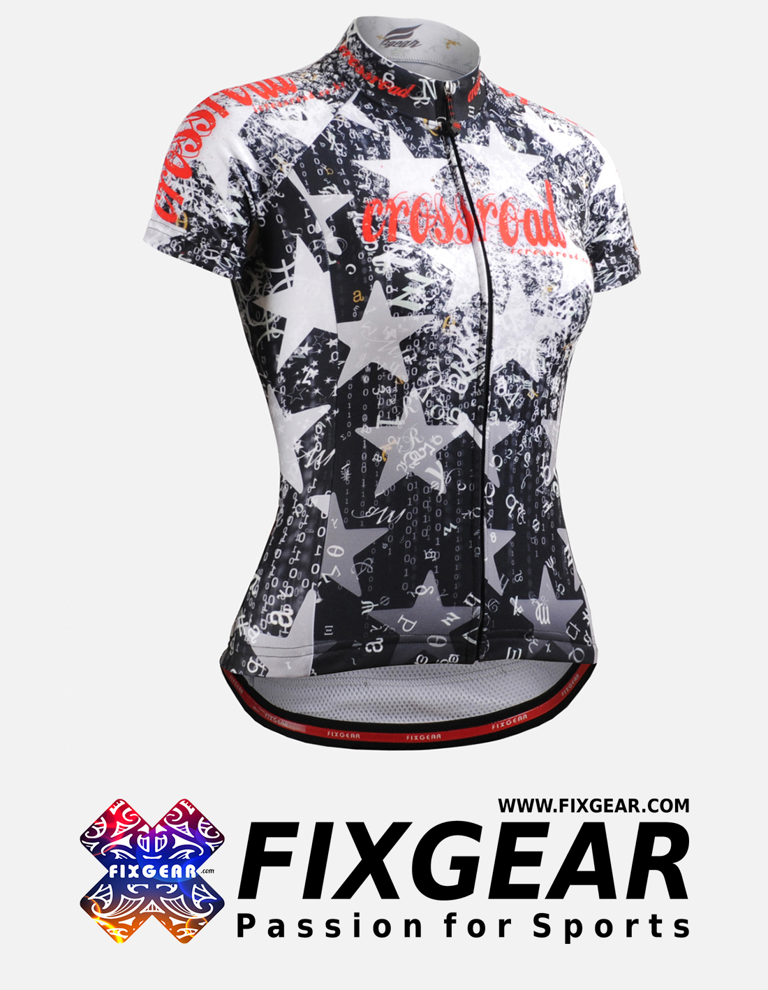 FIXGEAR CS-W2402 Women's Short Sleeve Jersey