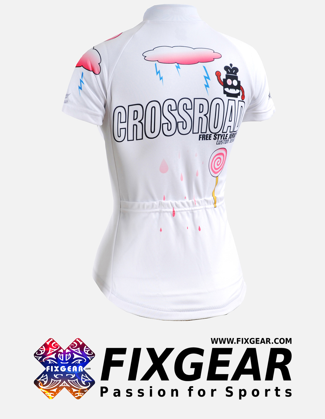 FIXGEAR CS-W2902 Women's Short Sleeve Jersey