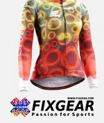 FIXGEAR CS-W401 Women's Long Sleeve Jersey