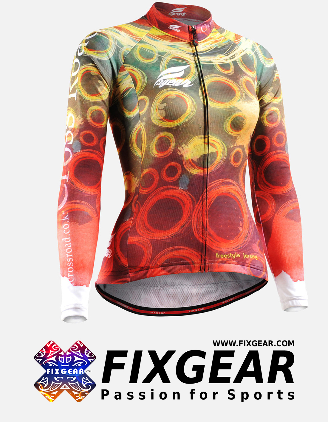FIXGEAR CS-W401 Women's Long Sleeve Jersey