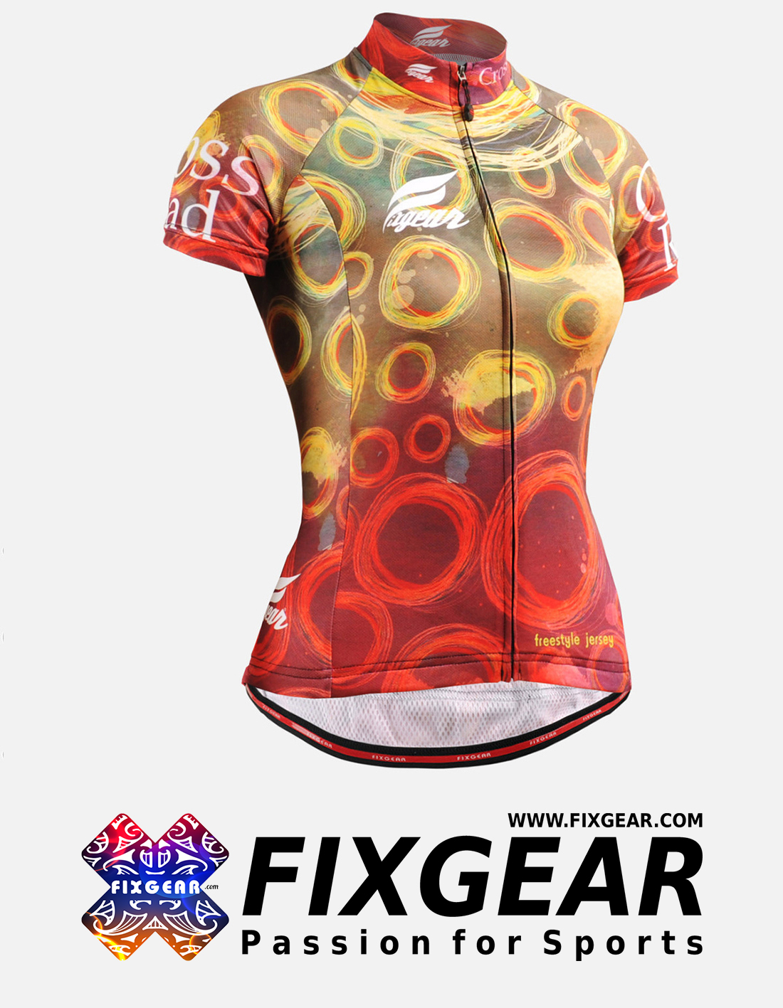 FIXGEAR CS-W402 Women's Short Sleeve Jersey