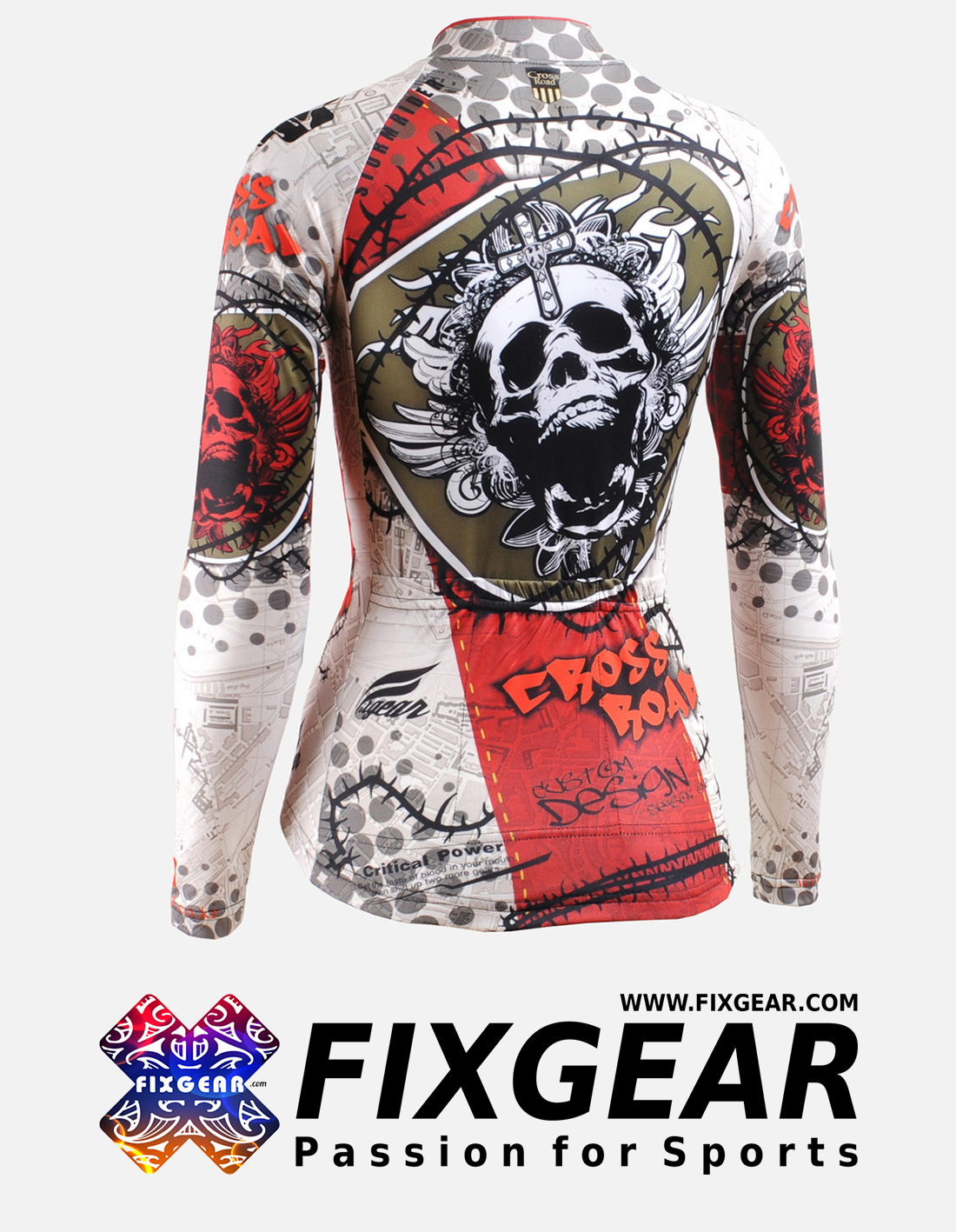 FIXGEAR CS-W501 Women's Long Sleeve Jersey