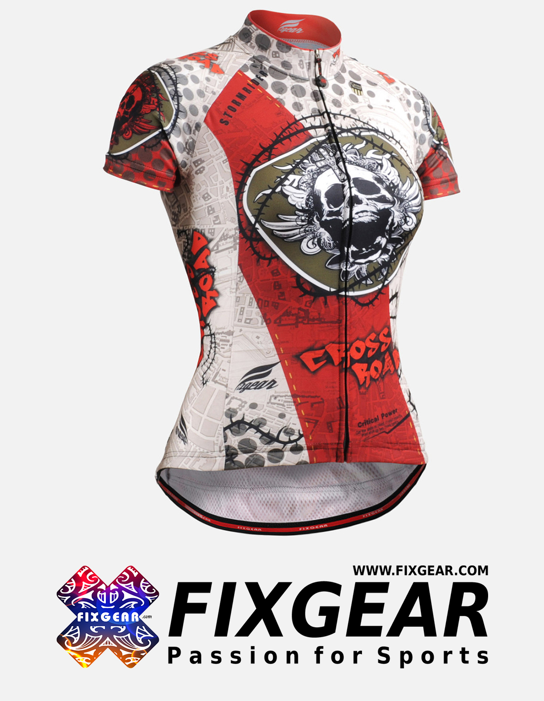 FIXGEAR CS-W502 Women's Short Sleeve Jersey
