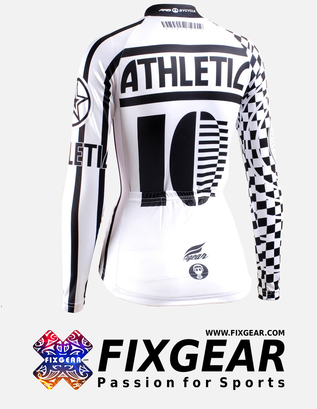 FIXGEAR CS-W601 Women's Long Sleeve Jersey