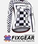 FIXGEAR CS-W601 Women's Long Sleeve Jersey