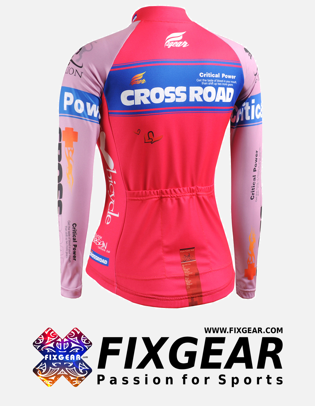 FIXGEAR CS-W7P1 Women's Long Sleeve Jersey
