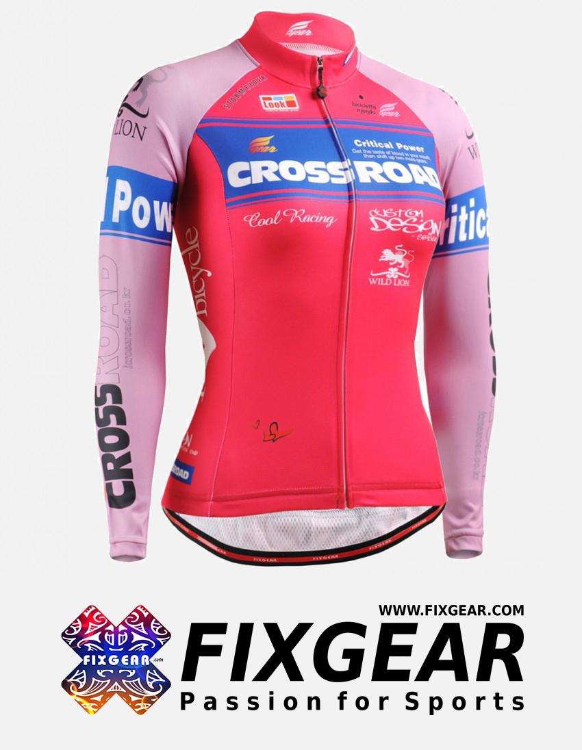 FIXGEAR CS-W7P1 Women's Long Sleeve Jersey 1