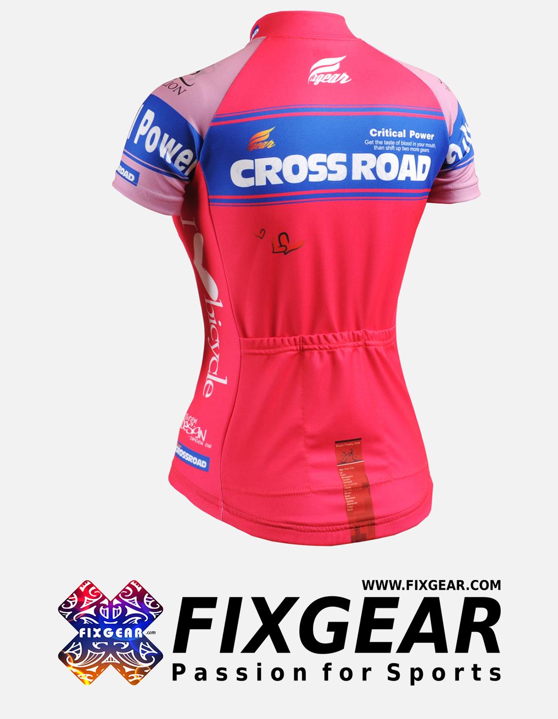 FIXGEAR CS-W7P2 Women's Short Sleeve Jersey