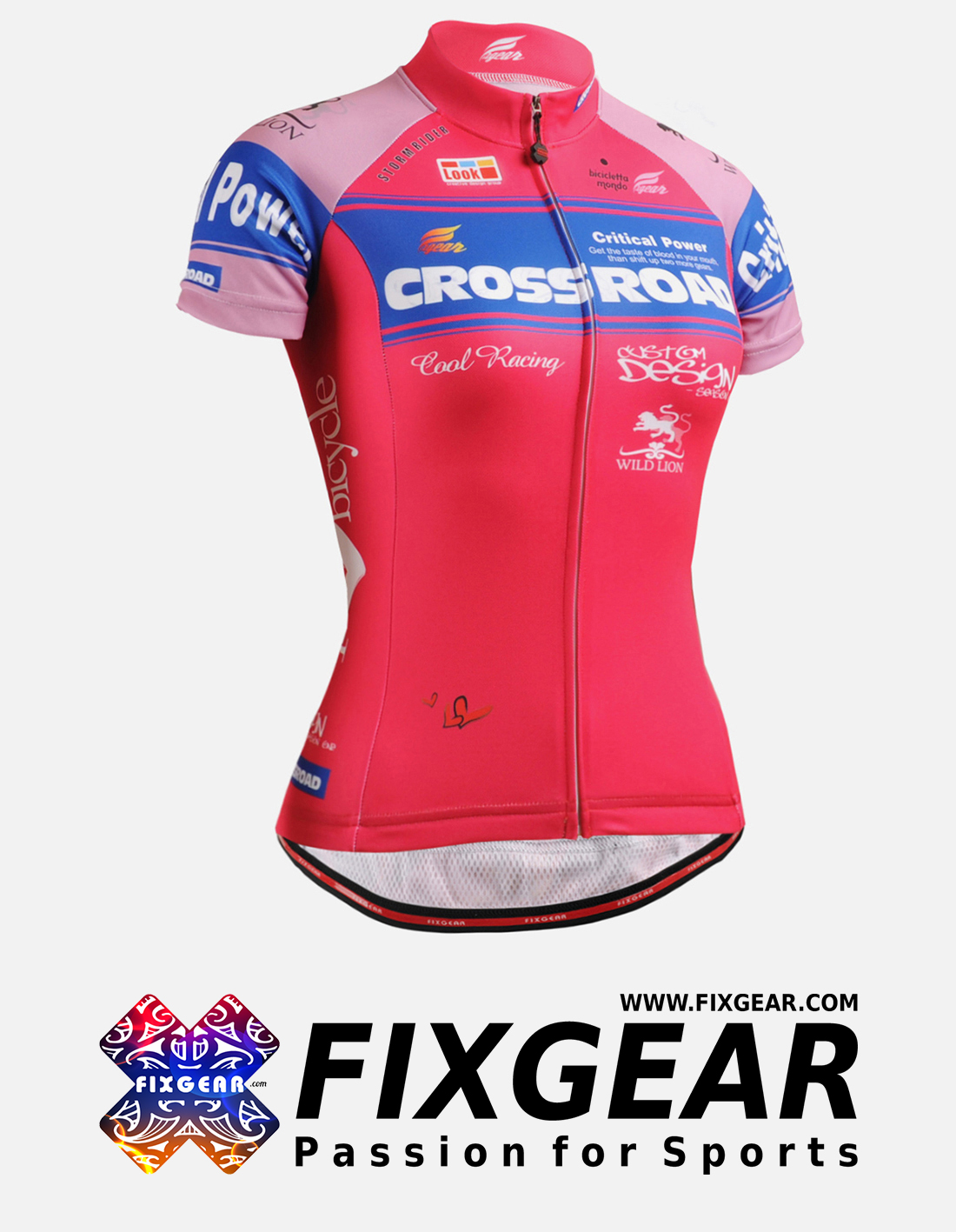 FIXGEAR CS-W7P2 Women's Short Sleeve Jersey