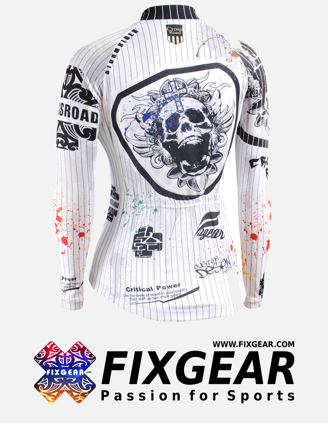 FIXGEAR CS-W901 Women's Long Sleeve Jersey