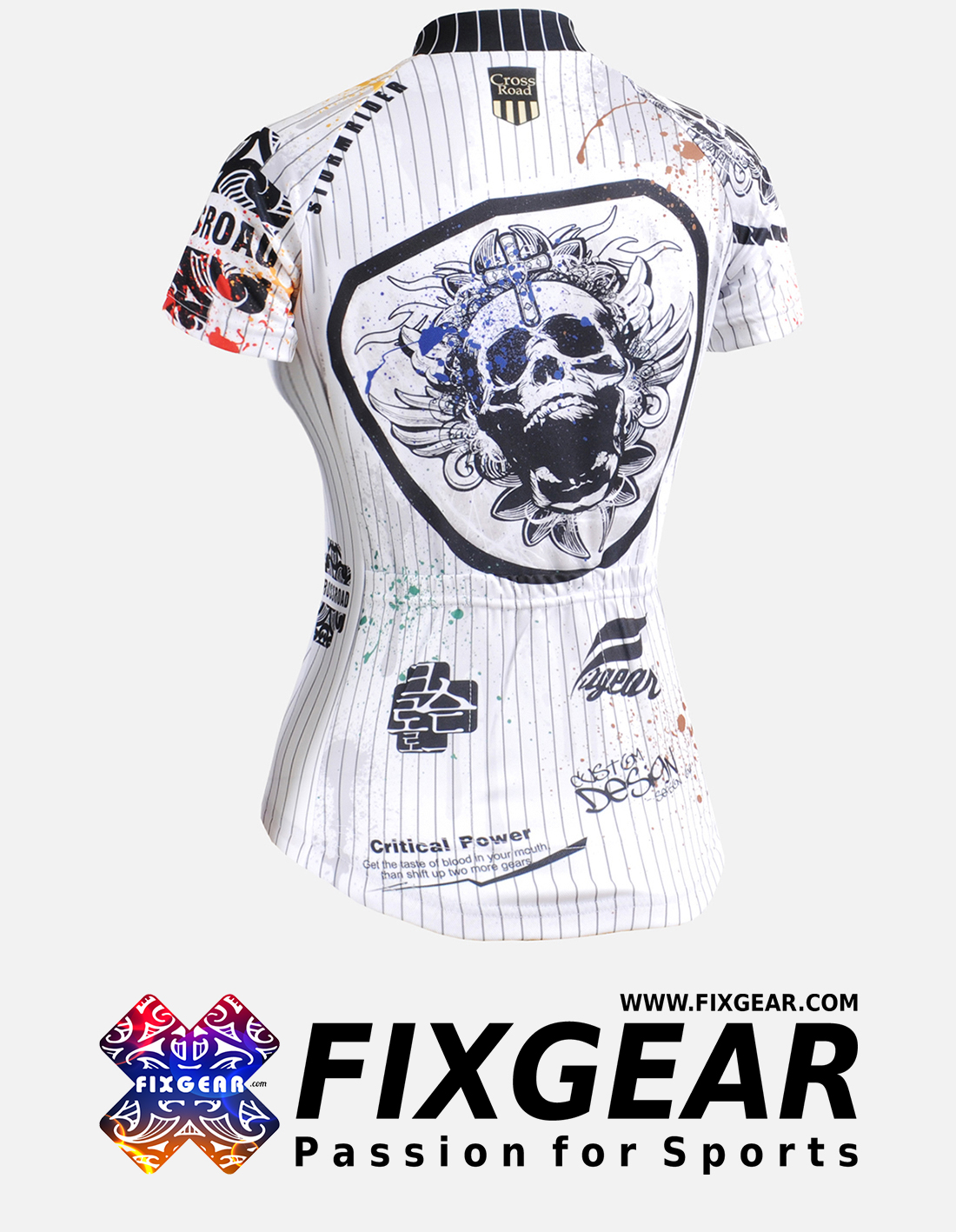 FIXGEAR CS-W902 Women's Short Sleeve Jersey
