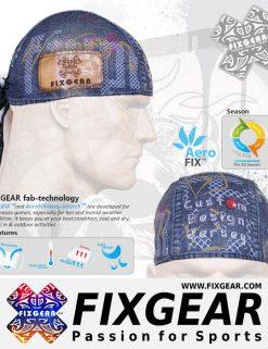 FIXGEAR D-15 Cycling Skull cap, Bandana
