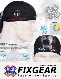 FIXGEAR D-18 Cycling Skull cap, Bandana