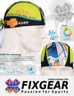 FIXGEAR D-19B Cycling Skull cap, Bandana