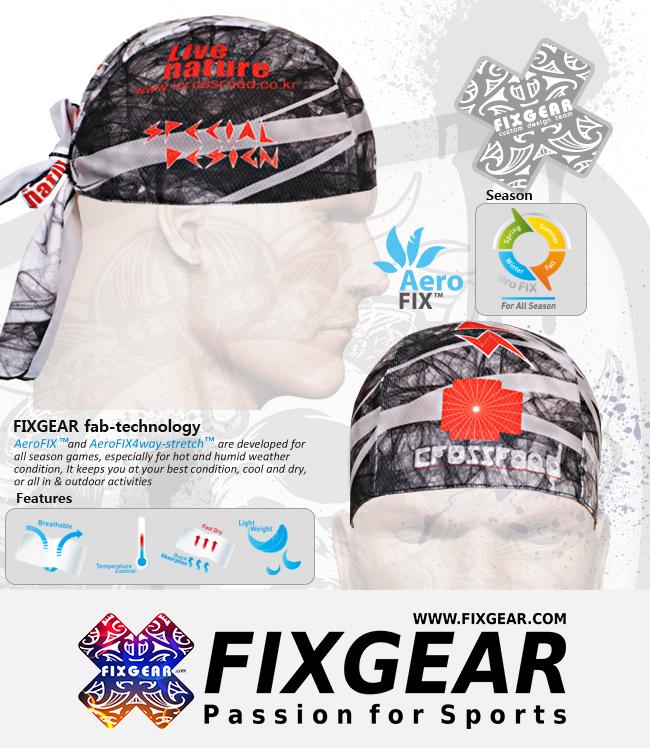FIXGEAR D-21 Cycling Skull cap, Bandana