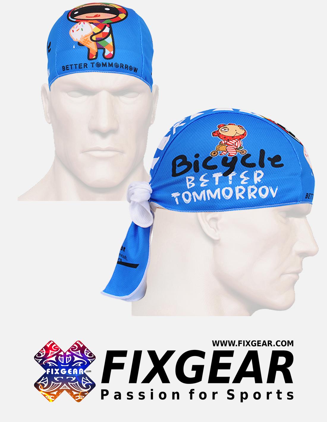 FIXGEAR D-31B Cycling Skull cap, Bandana