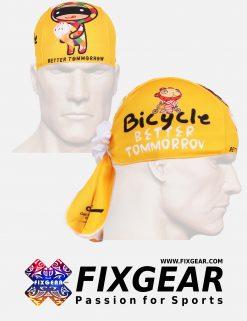 FIXGEAR D-31Y Cycling Skull cap, Bandana