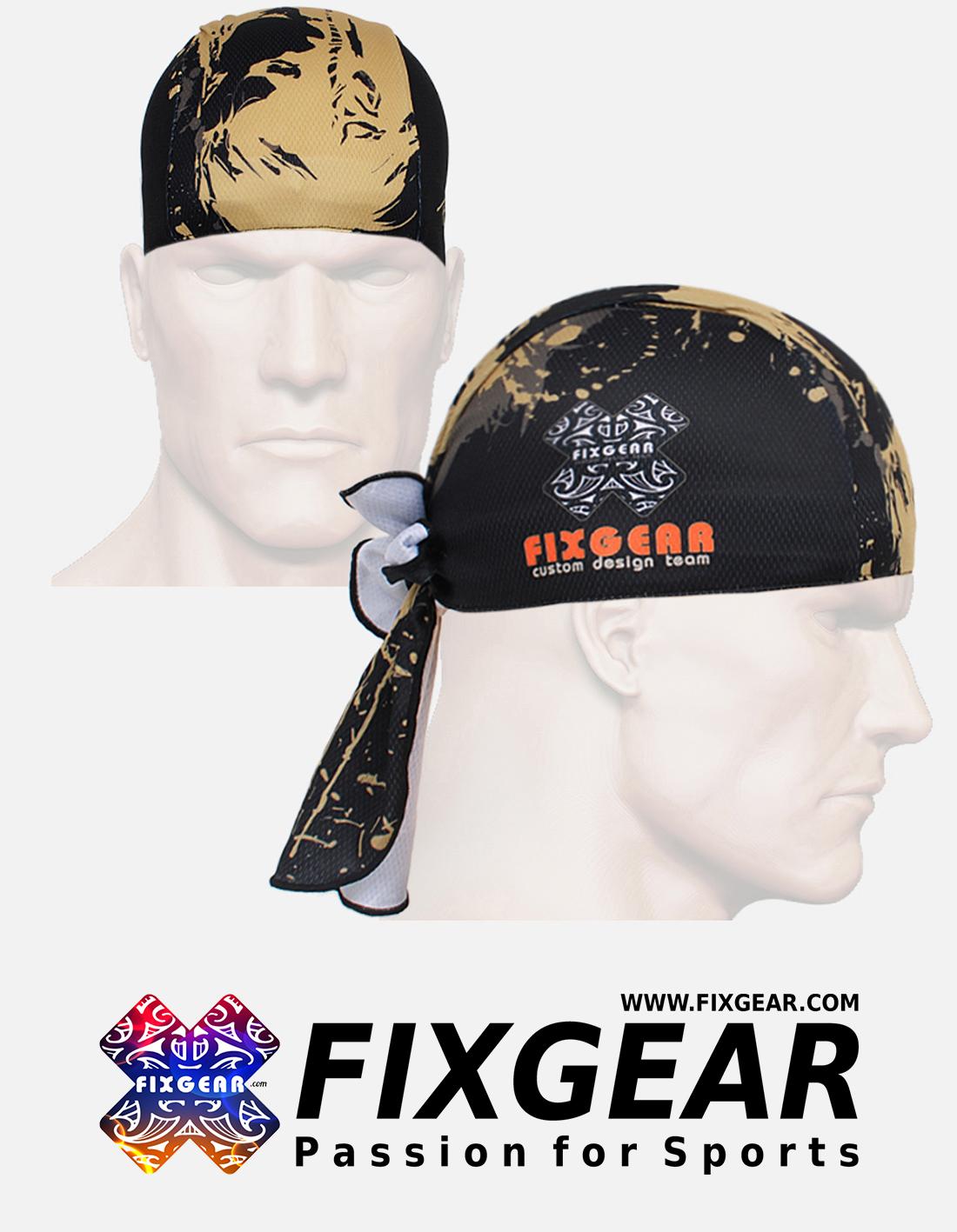 FIXGEAR D-32 Cycling Skull cap, Bandana