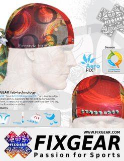 FIXGEAR D-4 Cycling Skull cap, Bandana