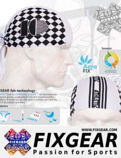 FIXGEAR D-6 Cycling Skull cap, Bandana