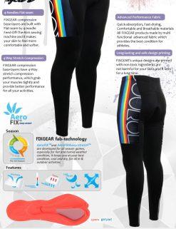 FIXGEAR LT-2 Men's Cycling  Cycling Padded Pants