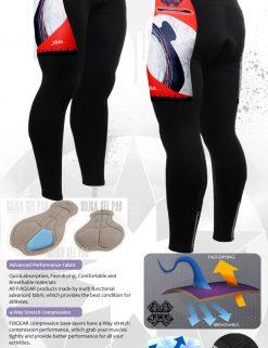 FIXGEAR LT-25 Men's Cycling  Cycling Padded Pants
