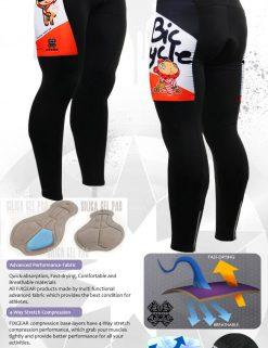 FIXGEAR LT-31O Men's Cycling  Cycling Padded Pants