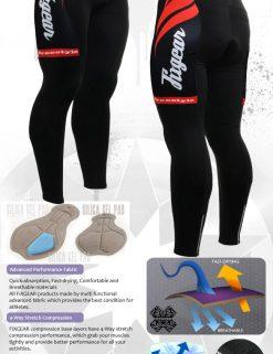 FIXGEAR LT-36 Men's Cycling  Cycling Padded Pants