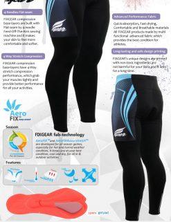FIXGEAR LT-56 Men's Cycling  Cycling Padded Pants