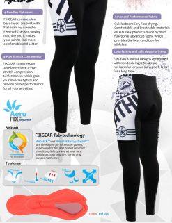 FIXGEAR LT-6 Men's Cycling  Cycling Padded Pants