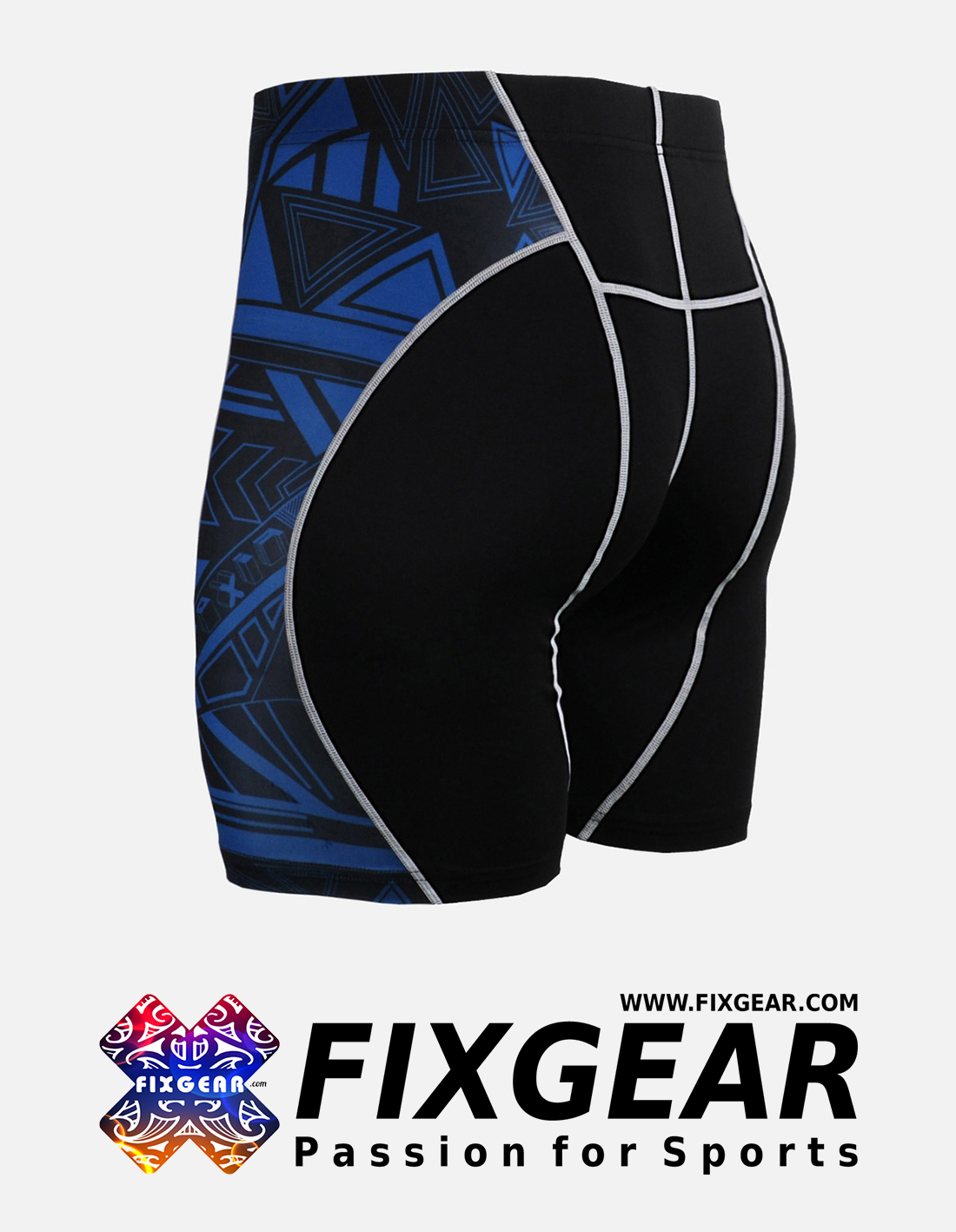FIXGEAR P2S-B1 Compression Drawer Shorts