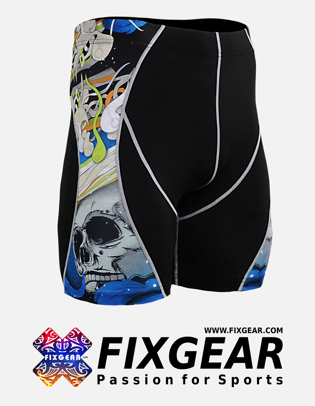 FIXGEAR P2S-B19B Compression Drawer Shorts