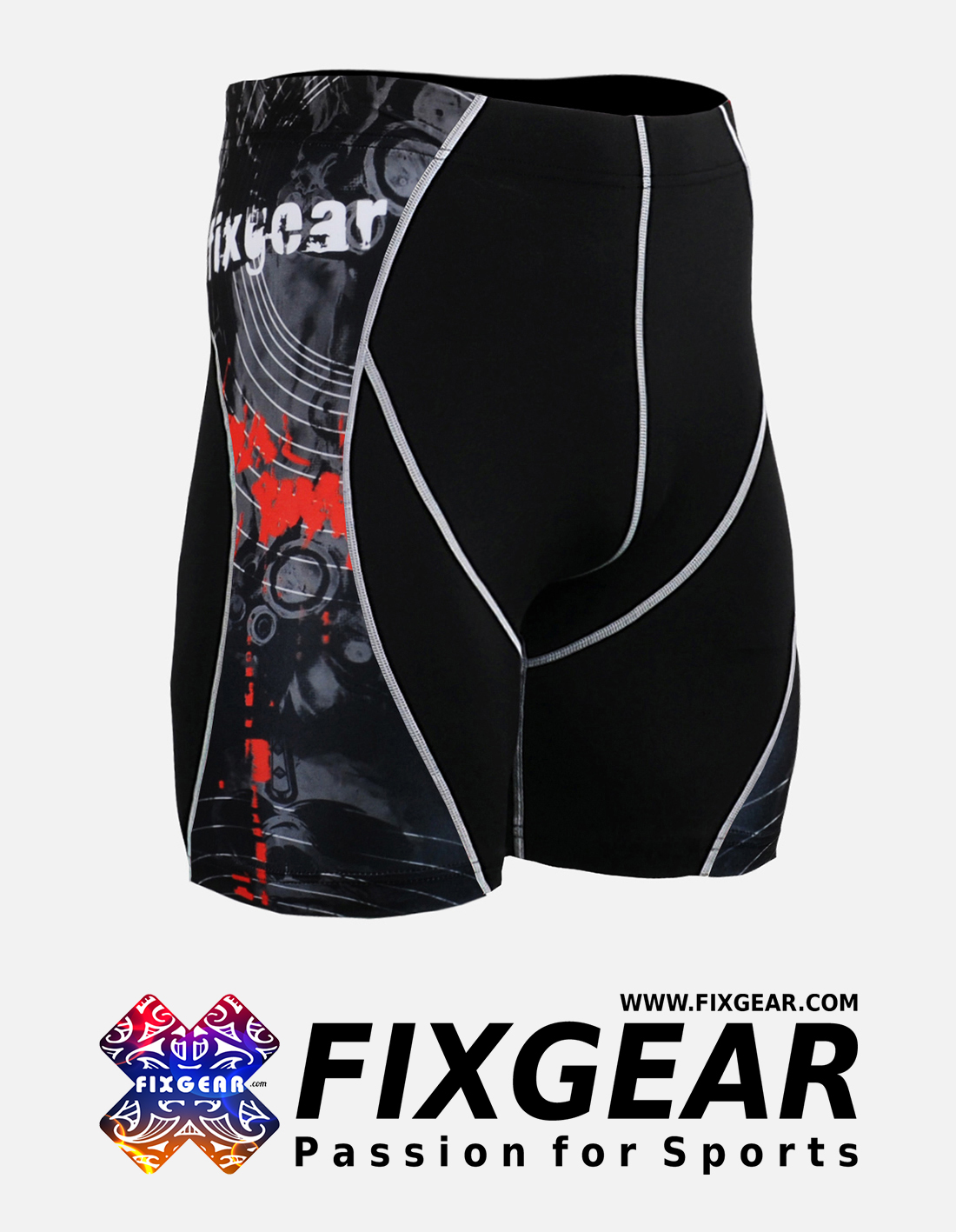FIXGEAR P2S-B30 Compression Drawer Shorts