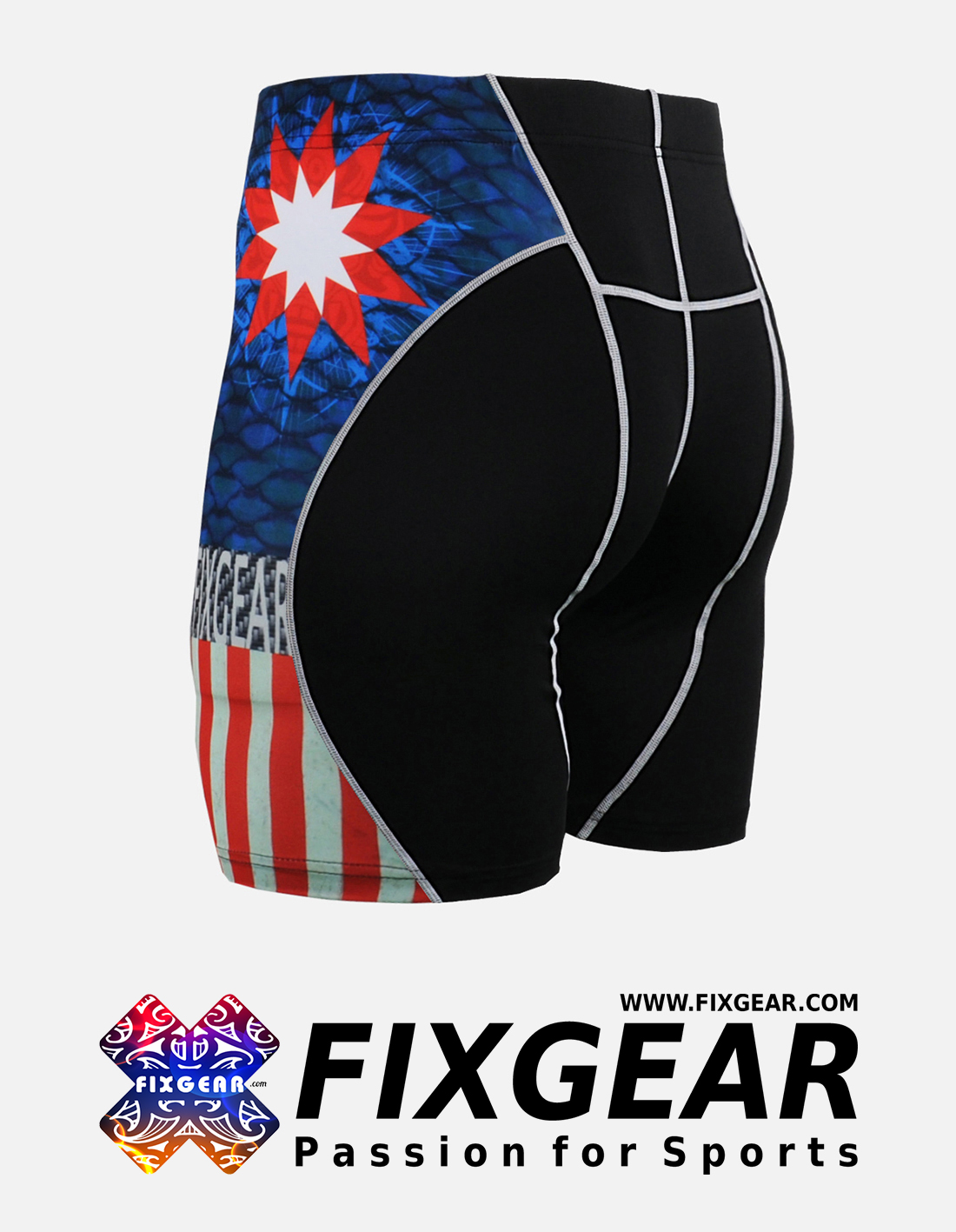 FIXGEAR P2S-B37 Compression Drawer Shorts