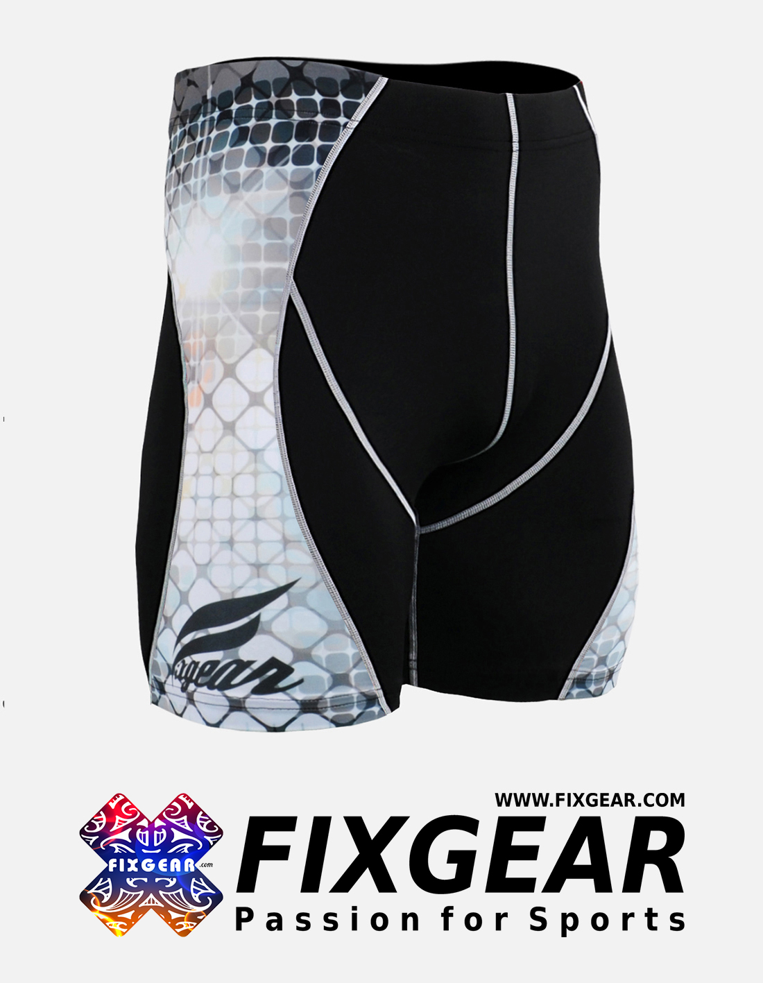 FIXGEAR P2S-B38 Compression Drawer Shorts