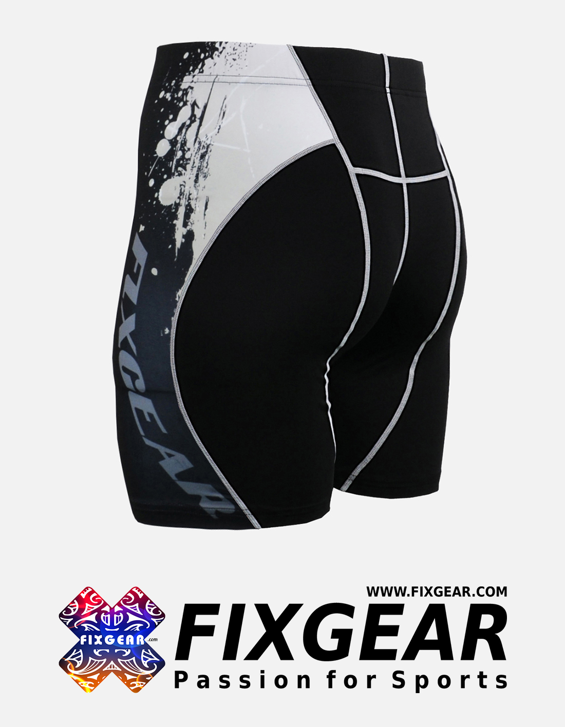 FIXGEAR P2S-B39 Compression Drawer Shorts