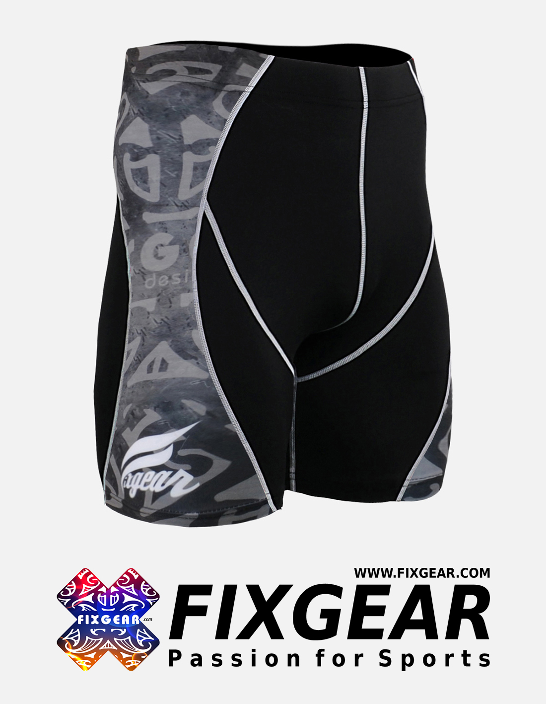 FIXGEAR P2S-B43 Compression Drawer Shorts