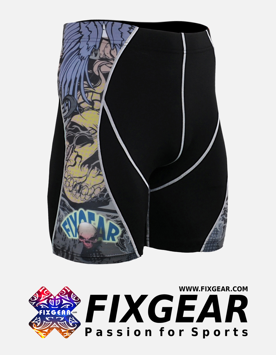 FIXGEAR P2S-B44 Compression Drawer Shorts